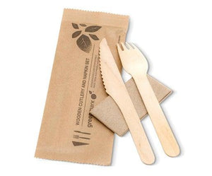 Wooden Cutlery Set Fork-Knife