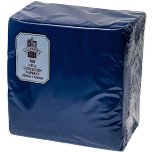 2 Ply Luncheon Napkins Dark Blue