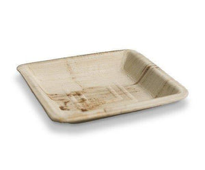Square Palm plates 6 inch