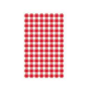 Red Gingham Greaseproof Paper