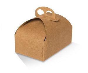 Kraft Cake Box - Medium- 190x110x60 mm
