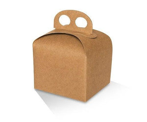 Kraft Cake Box - Small -110x95x89 mm