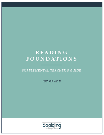 RFT1 Reading Foundations Supplemental Teacher's Guide E-book License (1)