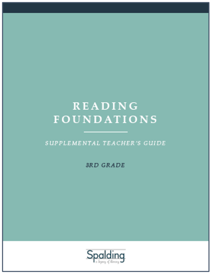 RFT3 Reading Foundations Supplemental Teacher's Guide E-book License (3)