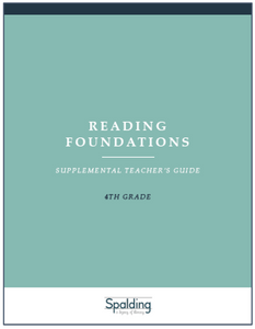 RFT4 Reading Foundations Supplemental Teacher's Guide E-book License (4)