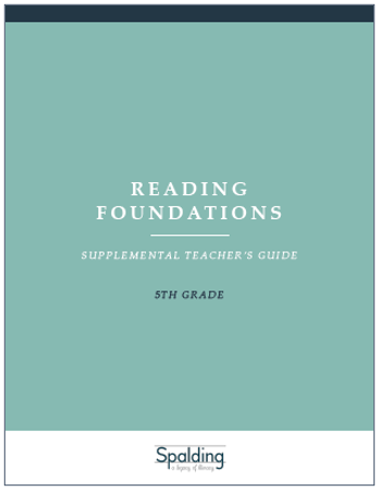 RFT5 Reading Foundations Supplemental Teacher's Guide E-book License (5)