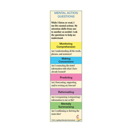 MAB Mental Action Bookmarks