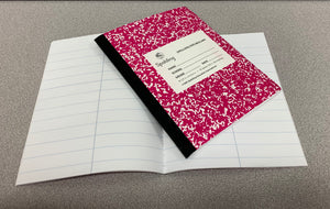NB1 Pink Primary Spelling/Vocabulary Notebook