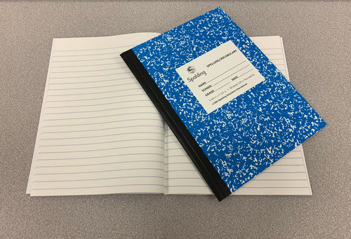 NB2 Blue Intermediate Spelling/Vocabulary Notebook