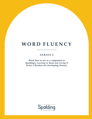 WF2D:  Word Fluency Series 2 Downloadable Resource