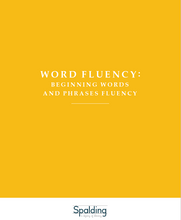 Load image into Gallery viewer, WFBD: Word Fluency Beginning Words and Phrases Downloadable Resource