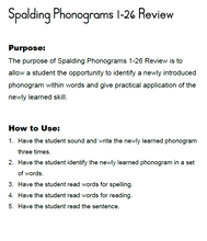 Load image into Gallery viewer, PAZ: Spalding Phonograms 1-26 Review