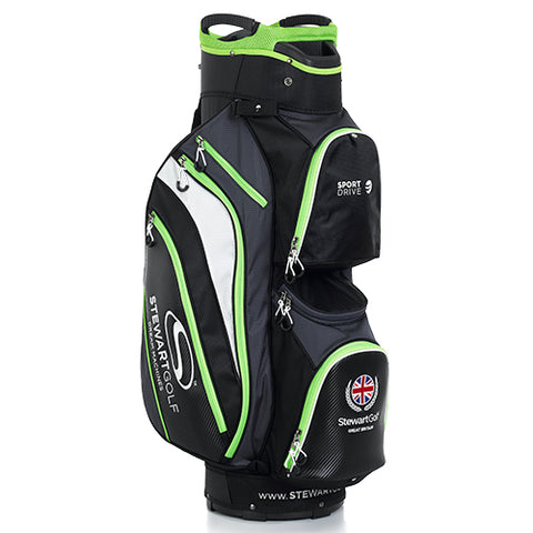 Image of Nya Stewart Golf  SportDrive vagn Bag