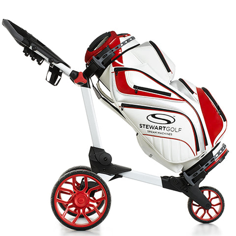 Nya Stewart Golf StaffPro vagn Bag