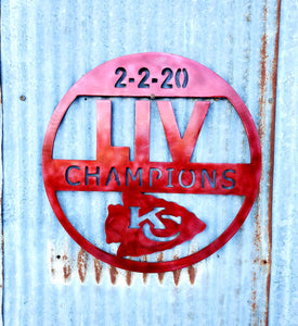KC LIV CHAMPS - LAG Metal Worx
