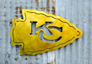 Kansas City Chiefs KC Arrowhead - LAG Metal Worx