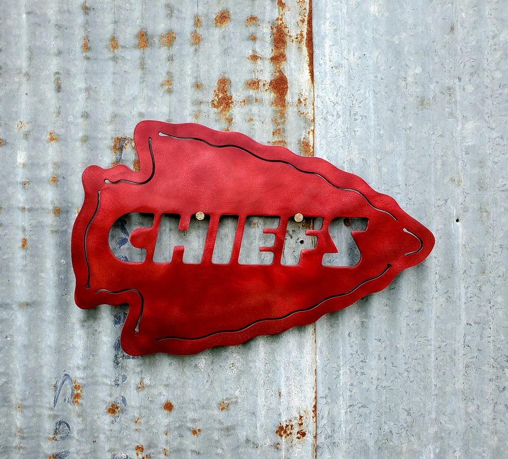 Kansas City Chiefs Arrowhead - LAG Metal Worx