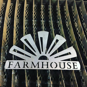 Windmill Farmhouse Sign - LAG Metal Worx