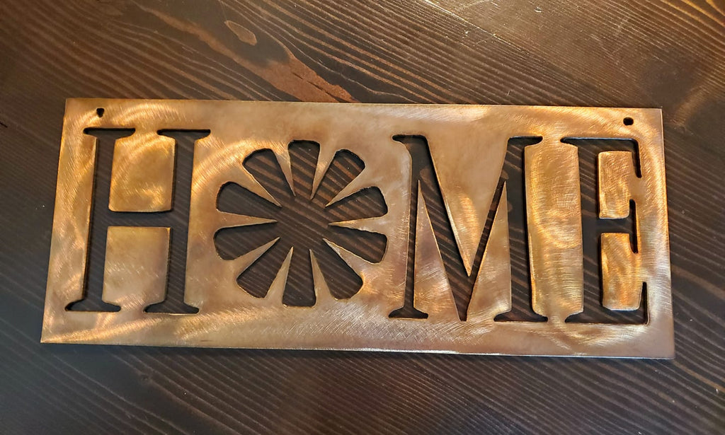 Windmill Home Sign - LAG Metal Worx