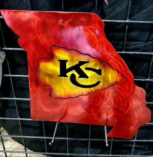 Kansas City Chiefs Arrowhead Missouri - LAG Metal Worx