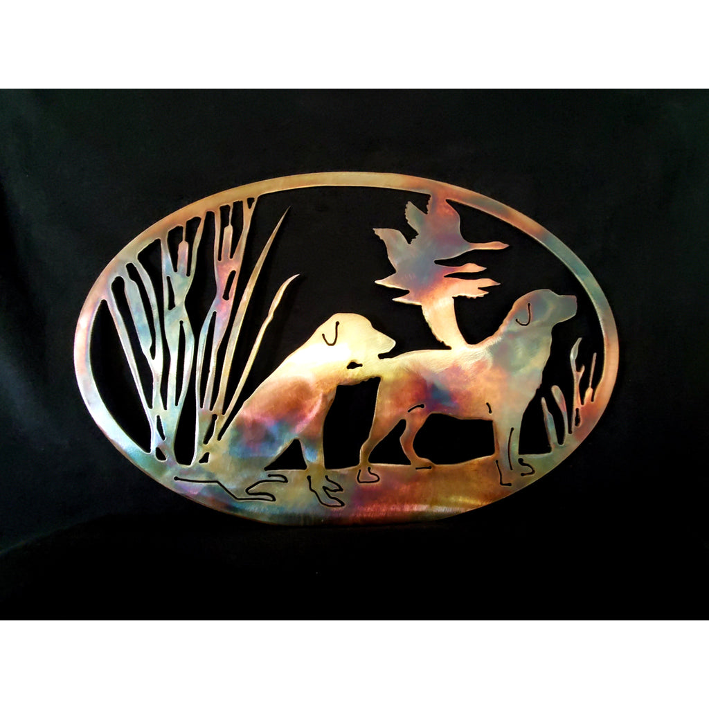 Duck hunting Oval - LAG Metal Worx