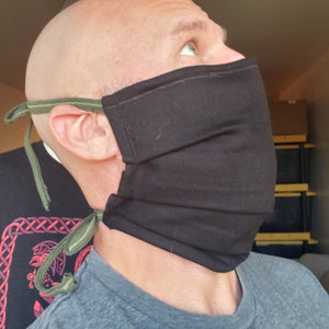 Beard Mask (Kilt fabric 12 oz. cotton drill)
