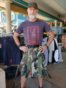 Kilted Cock Adjustable Geronimo Kilt for Men (Camouflage)