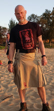 Load image into Gallery viewer, Kilted Cock Kama'aina Kilt for Men (Khaki)