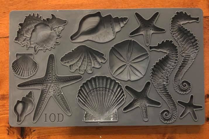 SEA SHELLS 6x10 Decor Mould
