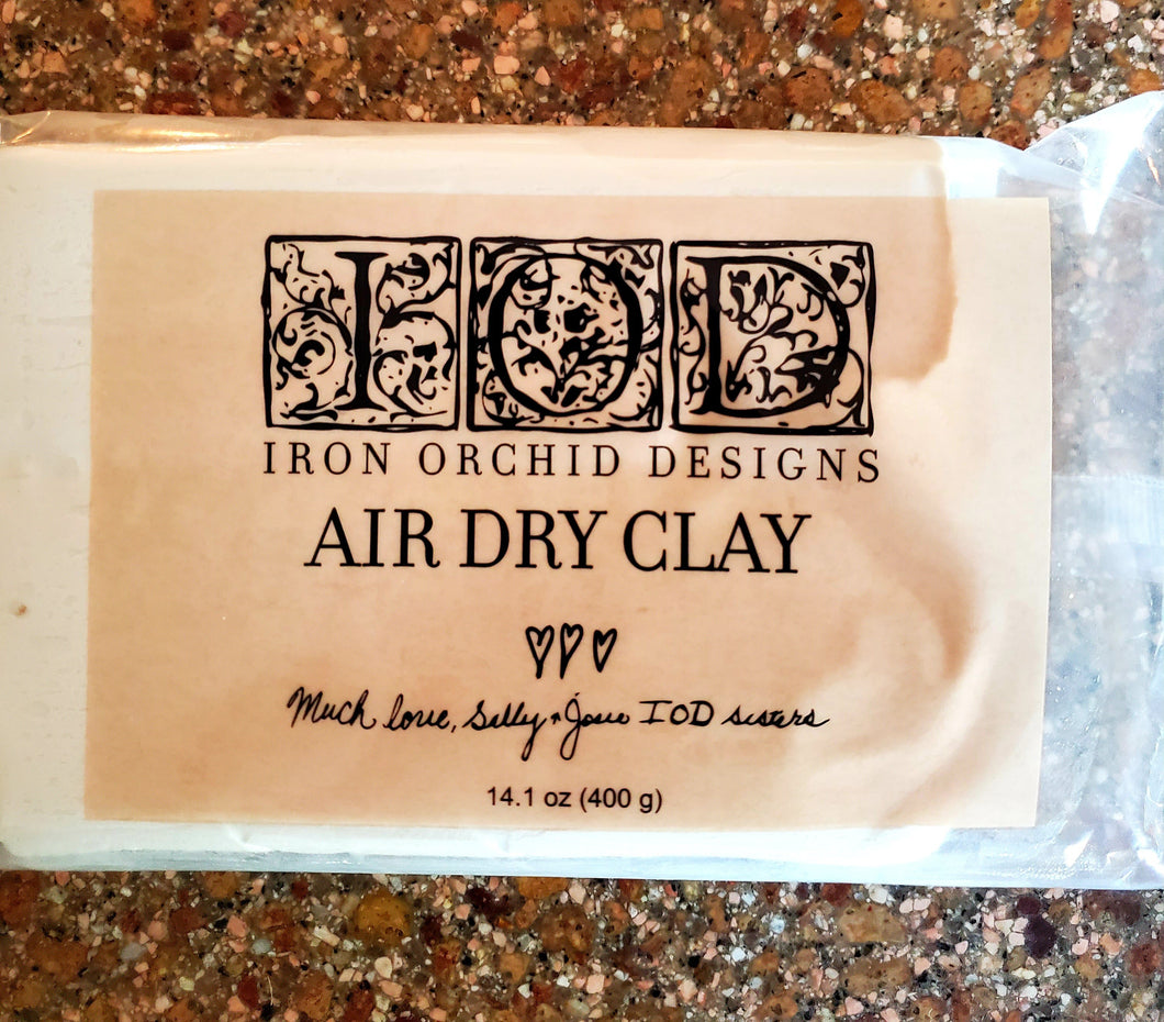 IRON ORCHID AIR DRY CLAY