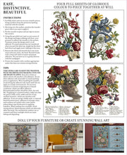 Load image into Gallery viewer, JUNE, ODE TO HENRY FLETCHER- IRON ORCHID 4-SHEET TRANSFER PAD PREORDER