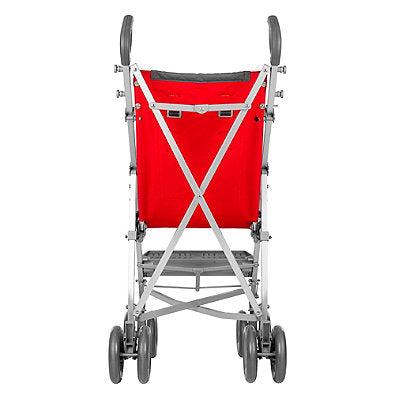 Maclaren Major Elite Special Needs Transport Chair, Cardinal/Charcoal