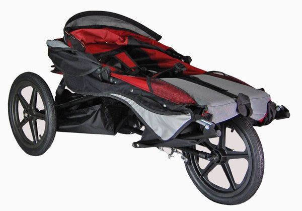 Adaptive Star Axiom IMPROV 2 Indoor/Outdoor Medical Mobility Push Chair,  Red