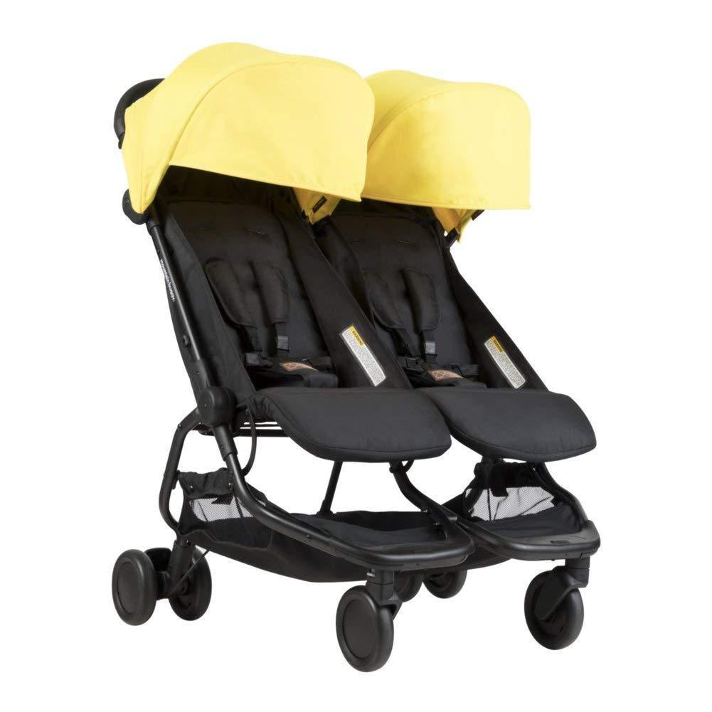Mountain Buggy Nano DUO Double Stroller In Cyber