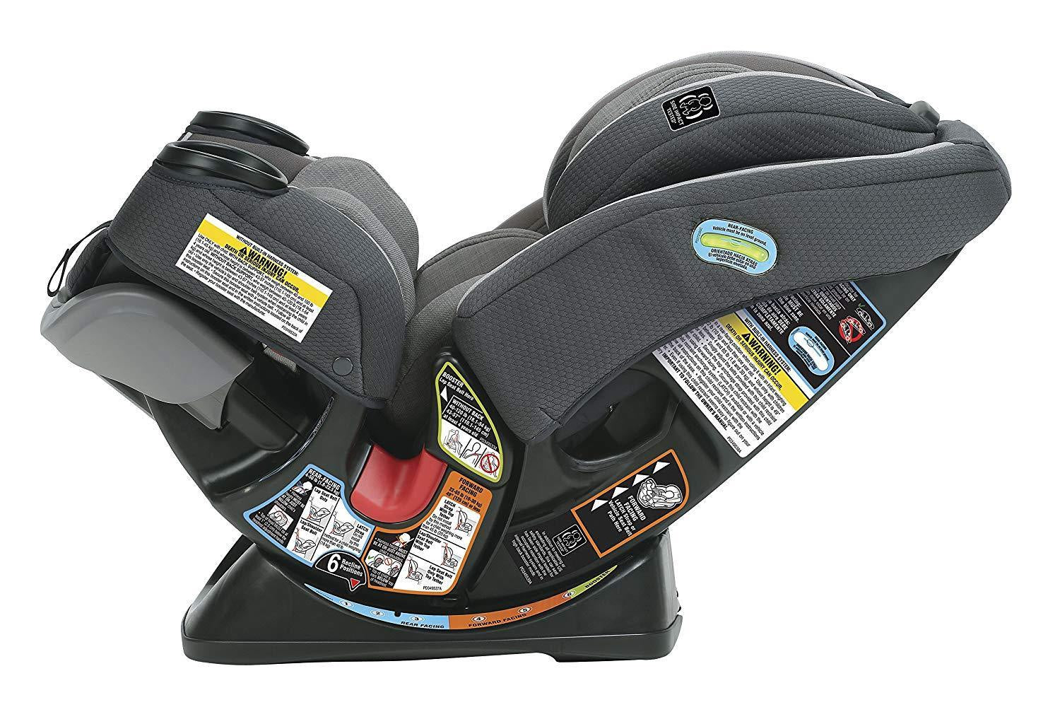 Graco 4Ever Extend2Fit 4-in-1 Car Seat in Passport
