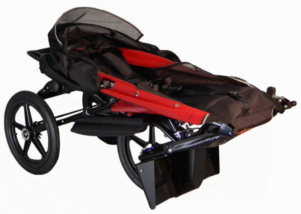 Adaptive Star Axiom ENDEAVOUR 3 Indoor/Outdoor Mobility Push Chair, Red