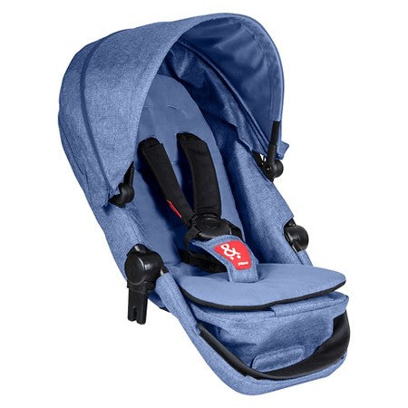 Phil & Teds Voyager Double Kit - Blue Marl