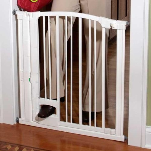 KidCo Pinnacle Gateway, White