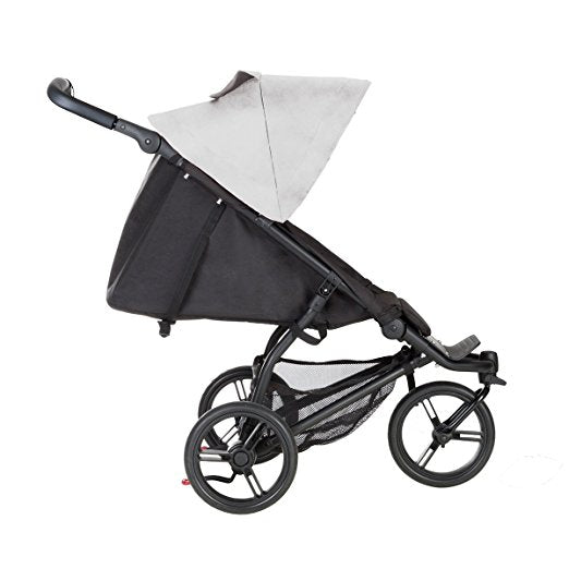 Mountain Buggy Mini V3.1 Stroller, Silver