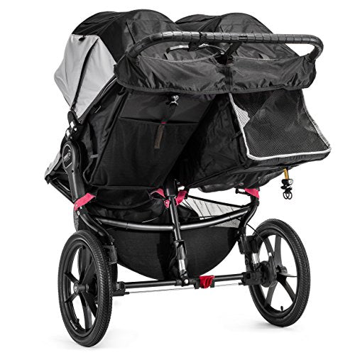 Baby Jogger Summit X3 Double - Black/Gray