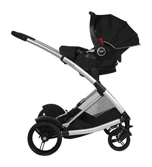 Phil & Teds Car Seat Adapter for Graco Click Connect and Chicco Keyfit to phil&teds Promenade (Main Seat) & Smart Lux and Mountain Buggy Cosmopolitan Strollers