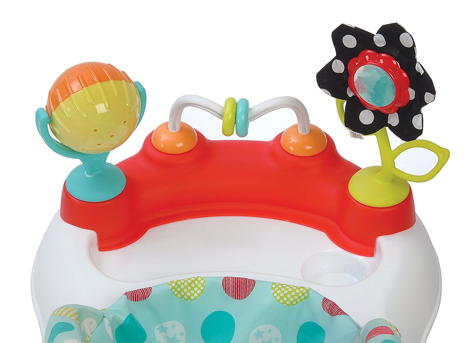 Seated or Easy to Kolcraft Tiny Steps 2-in-1 Activity Toddler and Baby Walker