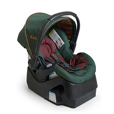 I'coo Acrobat Travel System - Copper Green