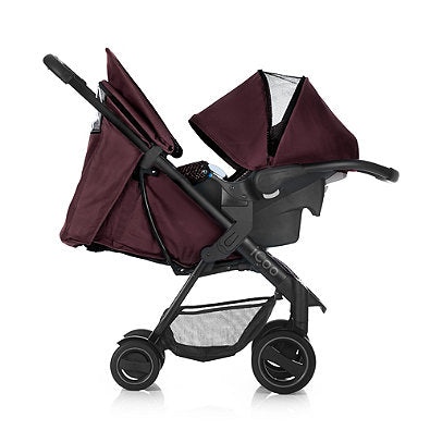 I'coo Acrobat Travel System - Fishbone Bordeaux