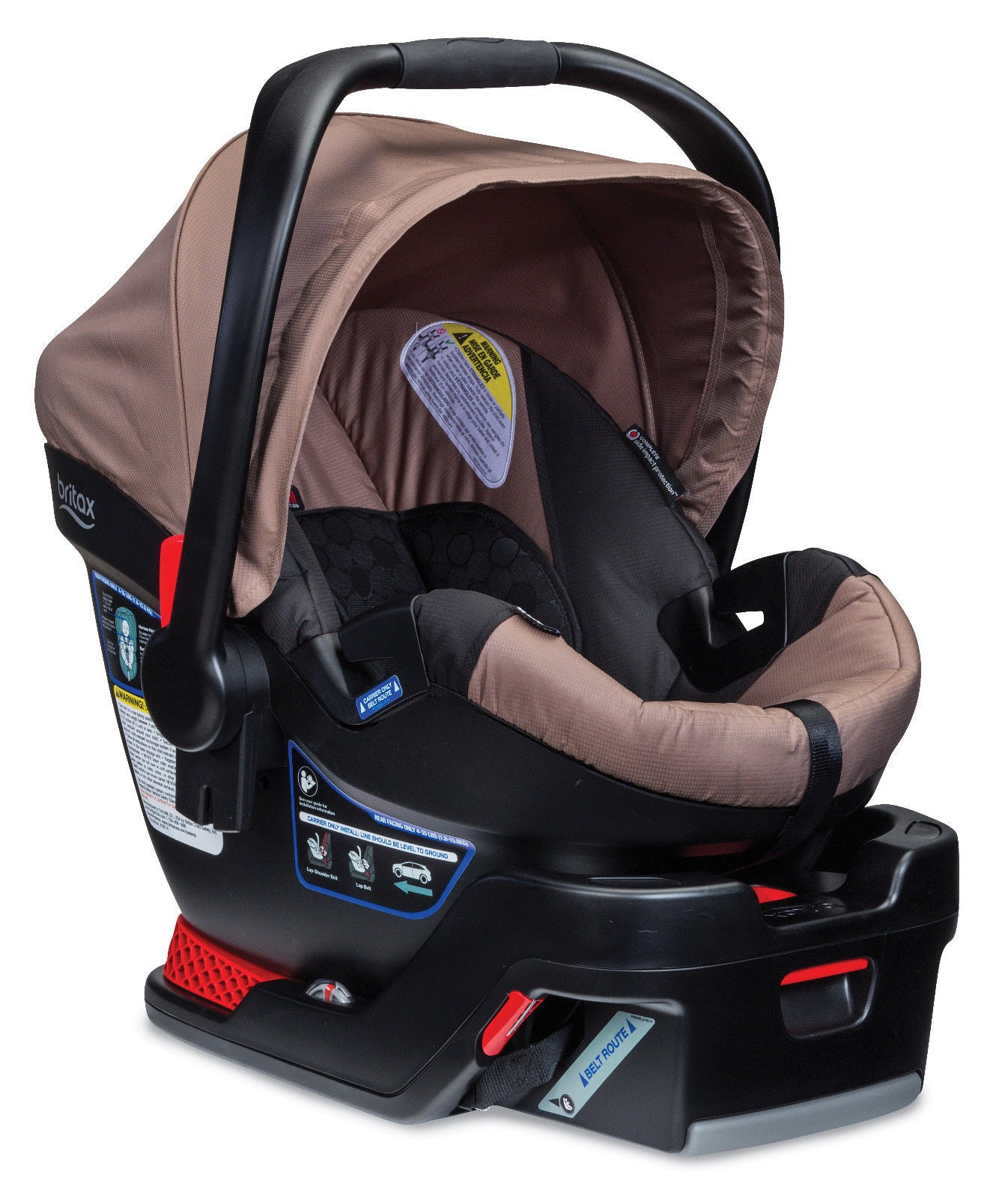 Britax 2015 B-Safe 35 Infant Car Seat, Sandstone