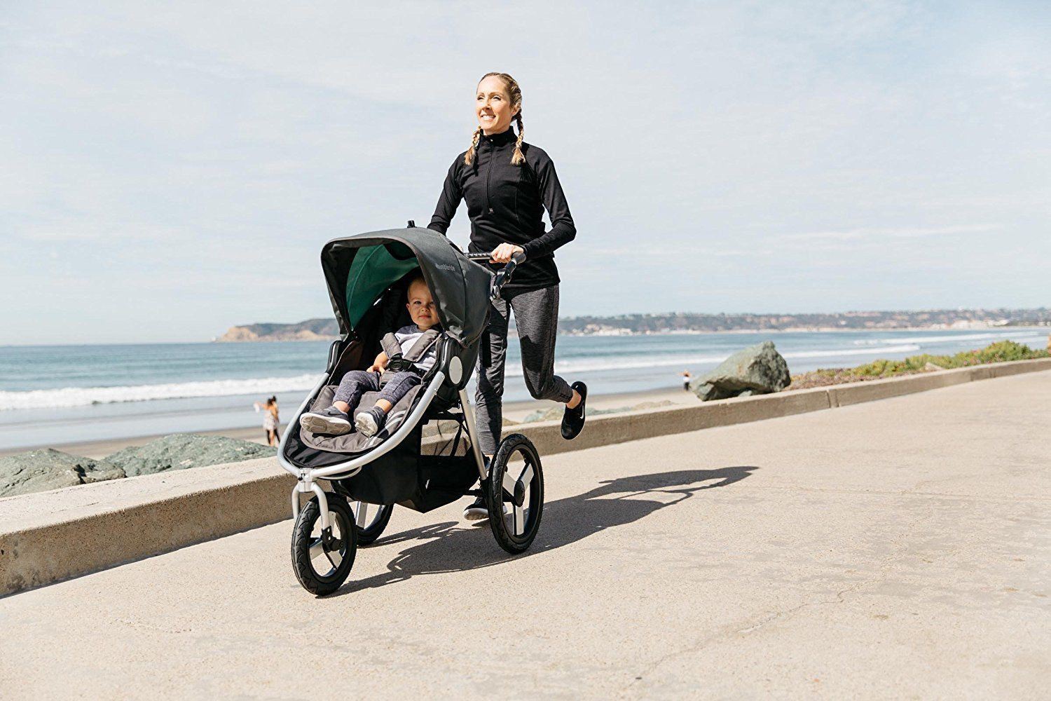 Bumbleride Speed 2018 Stroller in Matte Black