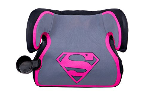 KidsEmbrace Fun Ride Backless Booster Car Seat - Supergirl Ultra