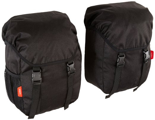 Phil & Teds Blazing Saddles Pannier Stroller Side Storage Bags, Black
