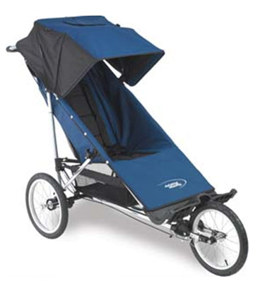 Advance Mobility Freedom Push Chair Navy - OPEN BOX