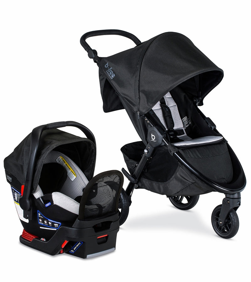 Britax B-Free + Endeavours Travel System - Clean Comfort
